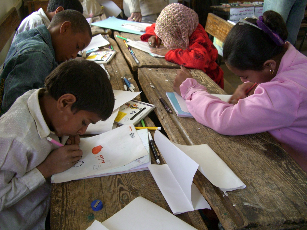 Ecole parallèle de Kom Gharib (Sohag)