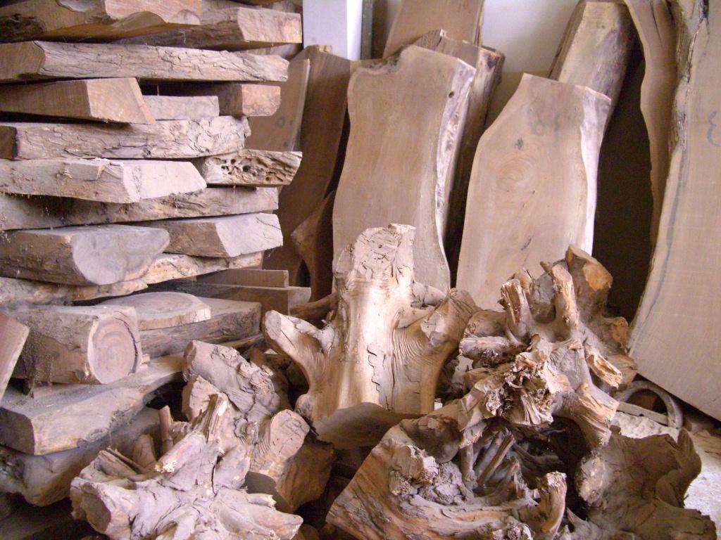 Réserve de bois se sersou (bois local)