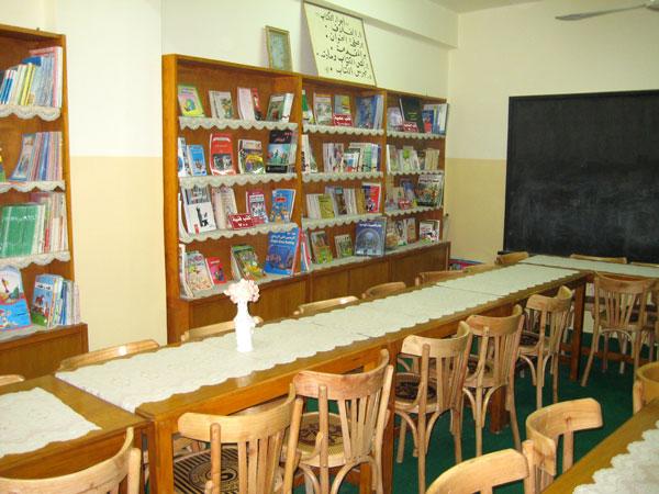 La bibliothèque rénovée