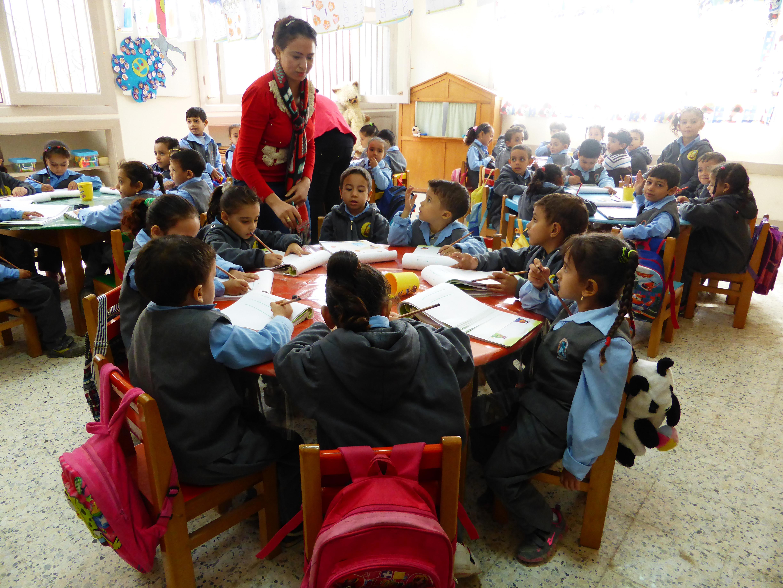 L'autre classe maternelle.